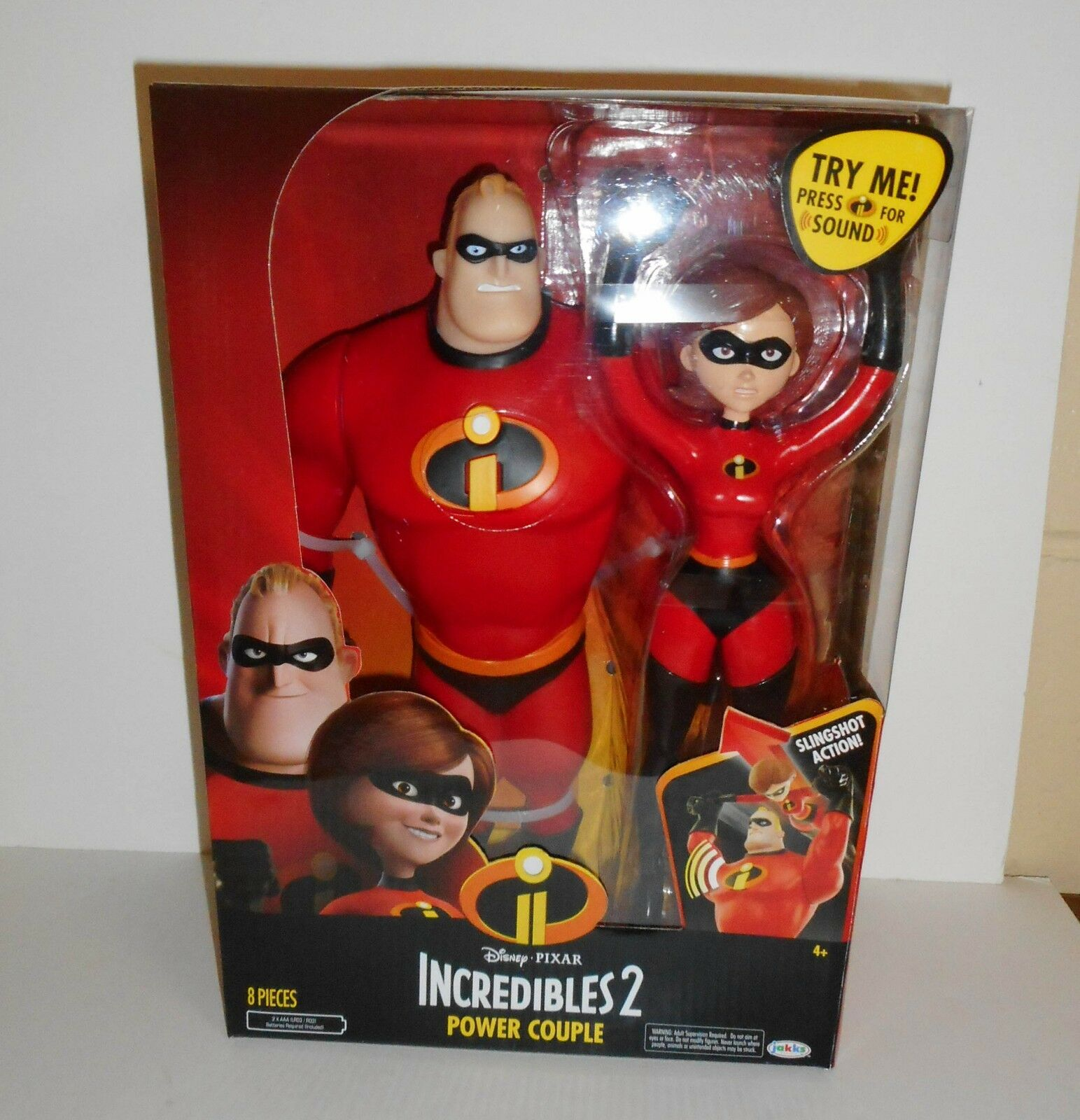 Incrotibles 2 mr incrotible und elastigirl 12 - inch - actionfigur setzen