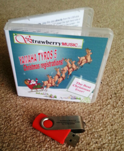 BEST CHRISTMAS EVER Tyros 4 USB Regi-stick Xmas registrations Tyros 4