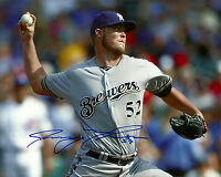 Brewers Pitcher JIMMY NELSON Signed 8x10 Photo #1 AUTO
