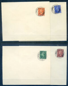 Great Britain 1951  New Colours & Festival of Britain on fF.D.C.'s(2020/09/12#09
