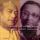 Signature Series, Vol. 4 by Ali Akbar Khan (CD, Aug-1994, Ammp)