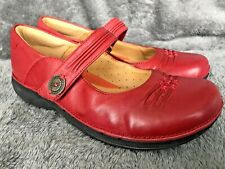 23c241db9c9ec9 Ladies Clarks Unstructured Un Linda Tan Leather Mary Jane Shoes Size ...