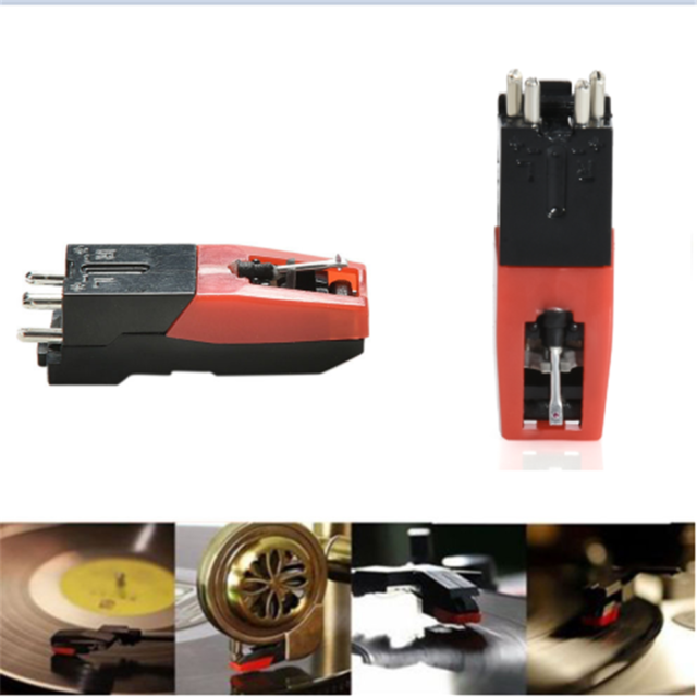 Turntable Phono Ceramic Cartridge with Stylus Needle for Vinyl Record Player FS
