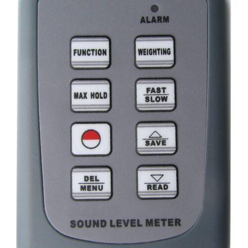 Digitale Fonometro 30 ~ 130 dB Decibel Rumore Tester con Software CD e cavo USB