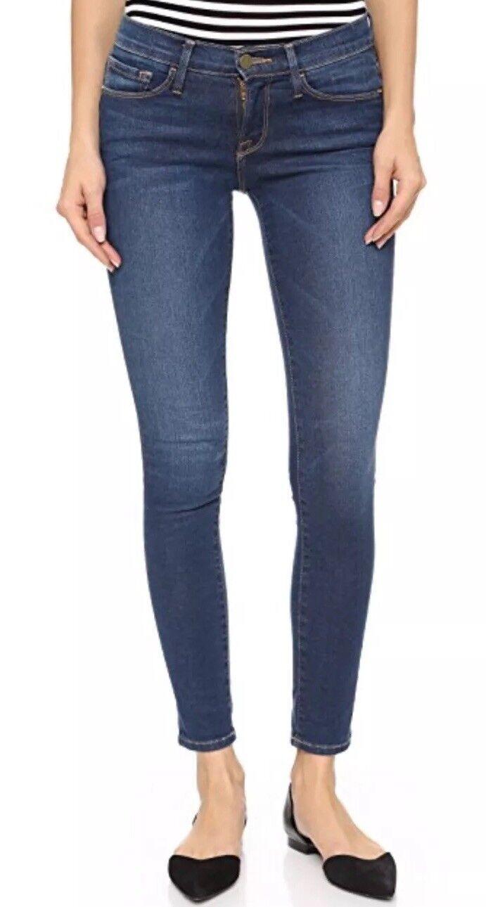 195 Frame Le Skinny De Jeanna bluee Wash Skinny Jeans 29