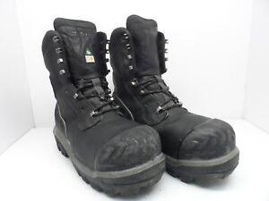 punta 8 nera pelle '' stivaletti pelle lavoro da composita 5m 410015196979 Uomo in Dunlop 10 in con zx1qwfzn