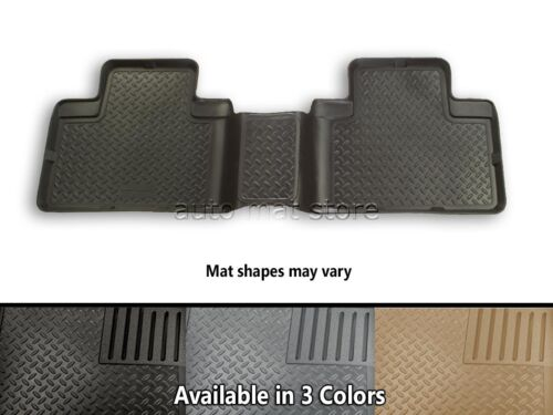 Choice Of Color Husky Liners Classic Style Third Row Floor Mats