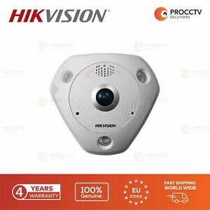 Hikvision Fish Eye Camera DS-2CD6365G0-IVS F1.27mm, 6MP, H.265 Micro SD, PoE