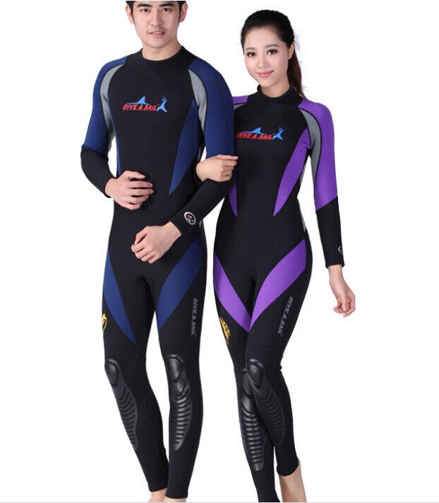 New 1.5mm Men Women Neoprene  Full Body Dive Suit Scuba Diving Jump Surf Wetsuits  excellent prices