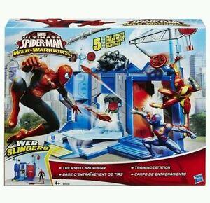 SpiderMan Marvel Ultimate Web Warriors Trickshot Showdown Set bnip - Staines, United Kingdom - SpiderMan Marvel Ultimate Web Warriors Trickshot Showdown Set bnip - Staines, United Kingdom