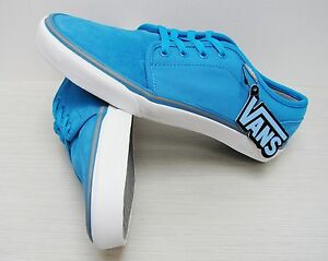 Vans 106 Vulcanized MLX Light Blue Charcoal VN-0NJN7CX Men s Size ... 20d05ac7d