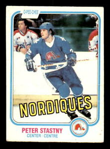 1981-82-O-Pee-Chee-269-Peter-Stastny-Nordiques-Rookie-VG-ref-9018