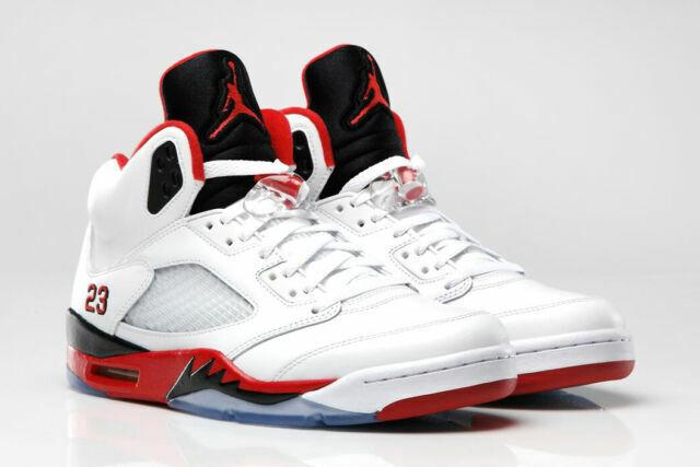 Size 8.5 - Jordan 5 Retro Fire Red 2006 for sale online | eBay