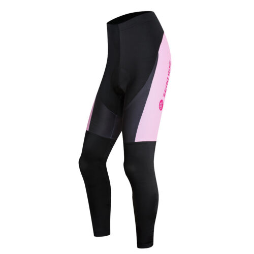 Outdoor Sportswear Women Pro Cycling Long Pants Bike Bicycle Padded Lycra Tights