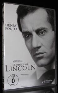DVD DER JUNGE MR. LINCOLN - HENRY FONDA - Regie: JOHN FORD (Abraham Lincoln) NEU