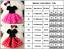 Kinder Mädchen Baby Minnie Maus Kleid Tutu Tüll Prinzessin Party Cosplay Kleider