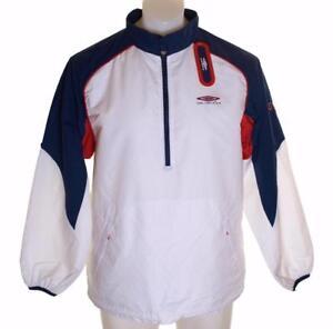 Bnwt Men s Umbro Pro Training Tracksuit Top Hooded Jacket Medium 38 ... 419262bbb35