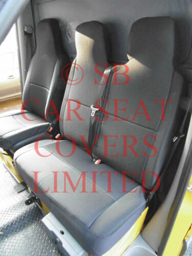PEUGOT BOXER VAN 2014 ONWARDS SEAT COVERS EMPORIUM BLACK