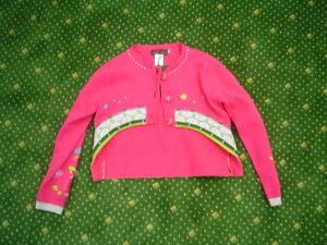 So-12-Catimini-ESPRIT-DENIM-Veste-tricotee-cardigan-gr-12A