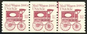 1903-9-3c-Mail-Wagon-Plate-6-VF-NH-Strip-of-3
