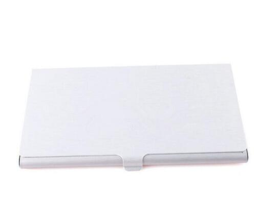 Pocket Edelstahl /& Metall Visitenkartenetui Case ID Geldbörse Silber NIU XJCSDE