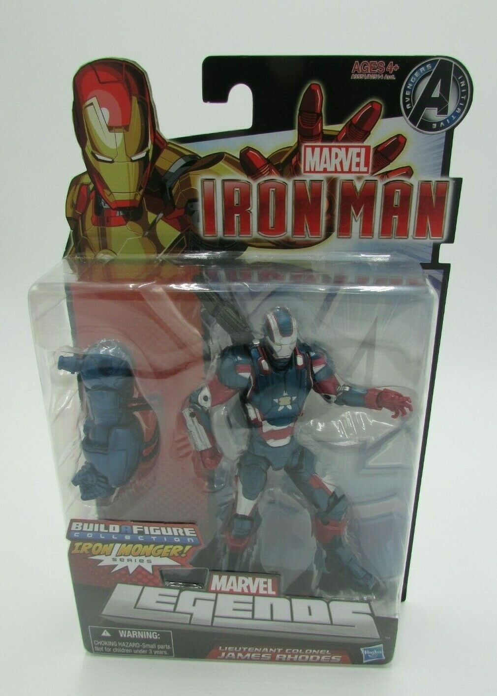 Marvel leggende Iron uomo Iron Patriot James Rhodes BAF IRON MONGER Nuovo di Zecca 2012
