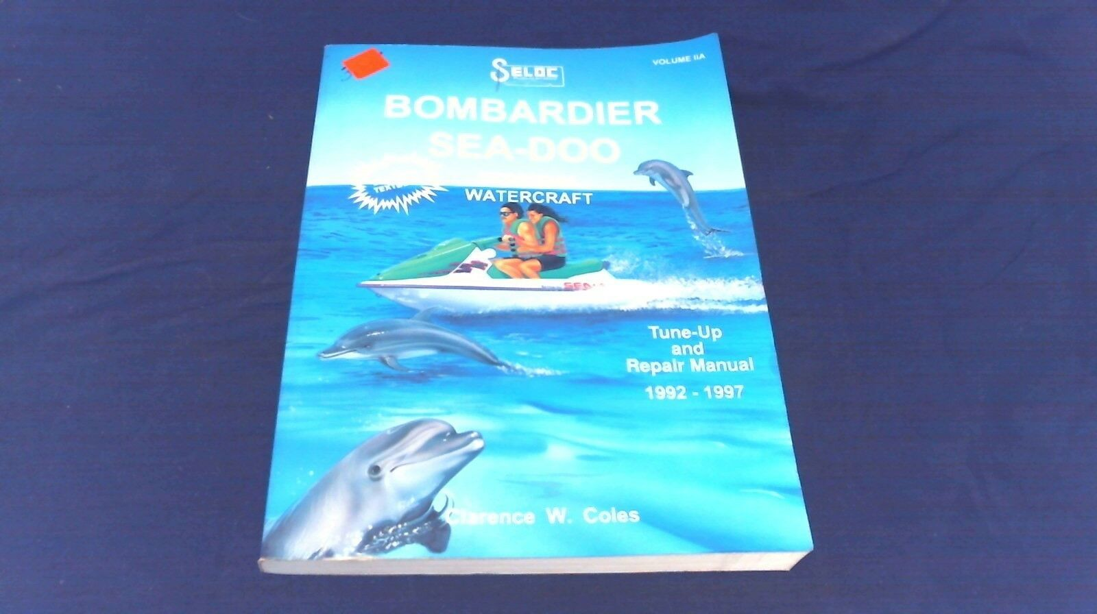 Seloc 9002 Service Manual for 1992-97 Sea-doo Bombardier Personal  Watercraft | eBay