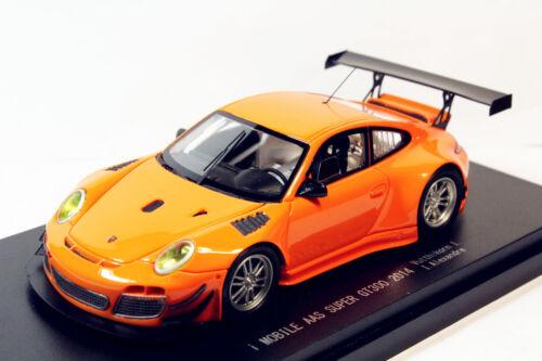1//43 Porsche 911 Super GT300 2014 No.99 i MOBILE AAS MODEL Toy Gift