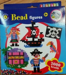 World-of-Craft-Bead-Figures-Pirate-use-with-hama-beads-and-boards-2000-beads