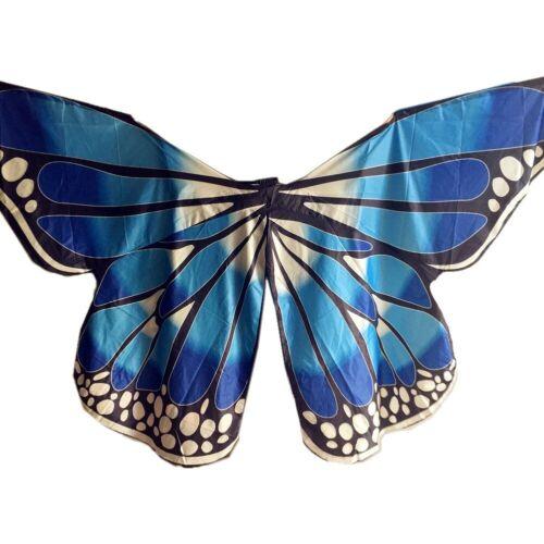 Neu Bunte Schmetterlingsflügel Bauchtanzkostüm Isis Wing Ägyptischer Tänzer