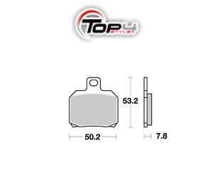 151058 Pastiglie Freno Posteriori Per Piaggio 250 X9 2000 - 2004