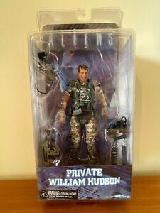 NECA Private William Hudson action figure (Aliens Series 1 Cult Classics rare)