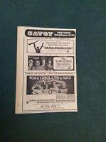 G1-1  Ephemera 1971 picture advert savoy penzance bob & carol & ted & alice