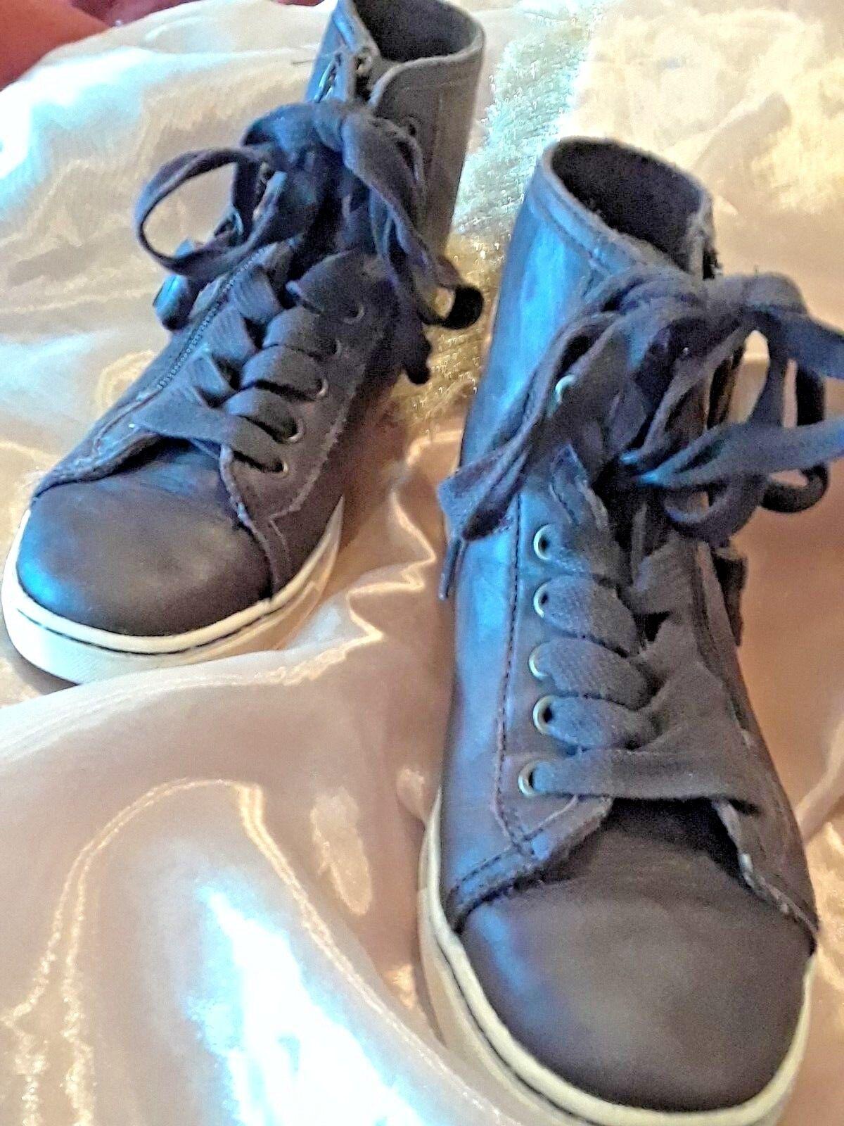 UGG Australia - Braune Hohe Sneakers aus Leder von Blaney - Größe 5.5