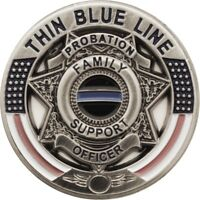 Thin Blue Line Probation Officer Family Support Pin