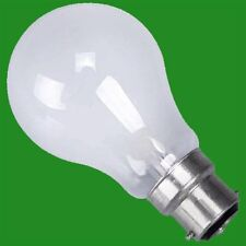 12x 60W PEARL GLS LIGHT BULBS BAYONET CAP, BC, B22