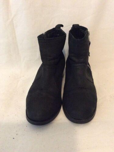 Top Shop in 38 Stivali pelle taglia marchio nera del qXFpY7g