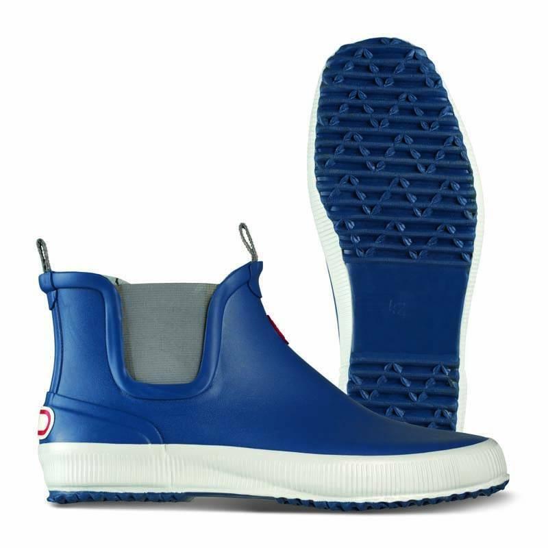 NOKIAN FOOTWEAR Stivali di gomma LOW squalo in blu per signore e signori, 36 a 46