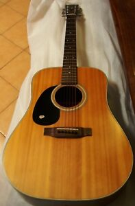 Left-Handed-K-YAIRI-W1-Acoustic-Guitar-USED