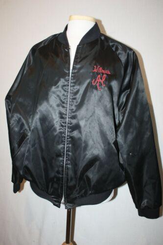 VTG Aristo Jak Black Satin Jacket Sz XXL USA Made