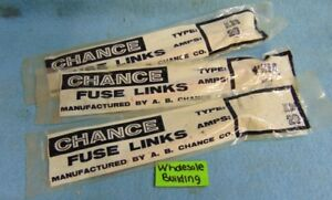 Image Is Loading CHANCE FUSE LINK TYPE K26 20 AMPS 26
