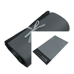 GREY-Strong-Plastic-Packaging-Postal-Polythene-Mailing-Bag-ALL-Sizes-Mail-Bags