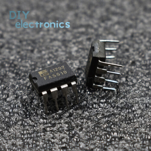 5PCS FA5510 FA5510P 8-PIN CMOS DIP IC para el control de la Fuente de alimentación de conmutación