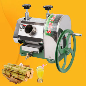 Details about Commercial Manual Sugar Cane Press Juicer Juice Machine  Extractor Mill 50kg/h