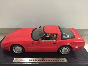 MAISTO-1-18-CORVETTE-COUPE-1996-RED-CLASSIC-FAST-AND-FURIOUS-CHEAP