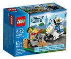 LEGO City Police Bike Crook Pursuit 60041 With Robber Figure for 5 to 12 Years