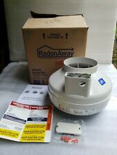 Used Radonaway Rp265 Radon Mitigation Ultra Quiet Fan 6 Thermally Protected