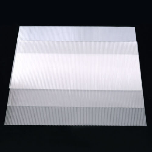 4mm Polycarbonate Clear Sheet Greenhouse Frame Glazing Shed Panel Roofing Cover