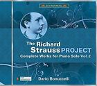 The Richard Strauss Project: Complete Works for Piano Solo, Vol. 2 (CD, Apr-2016, Dynamic (not USA))