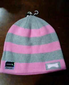 2279985fd8bd8 New Adult NFL Winter Philadelphia Eagles Pink Gray Skull Hat Cap Ski ...